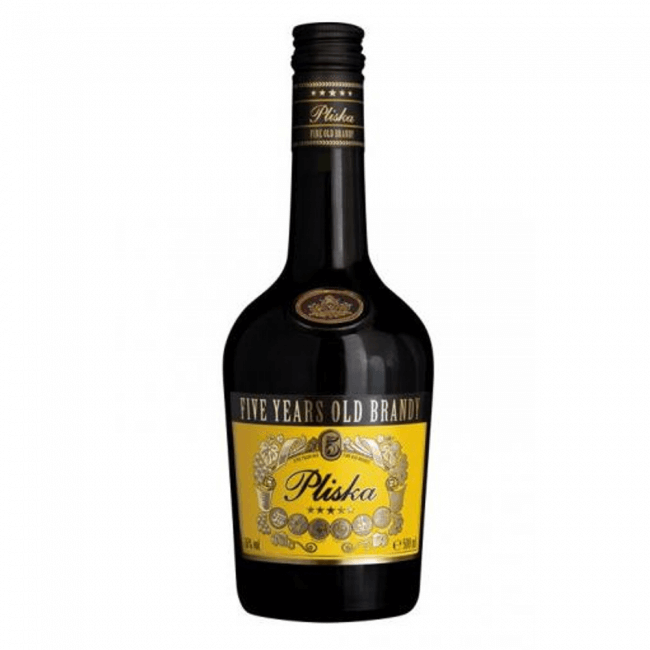 pliska brandy 0.5l von vinex preslav.