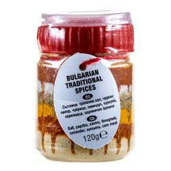 Traditionelles Buntes Salz Sharena Sol Motiv 3