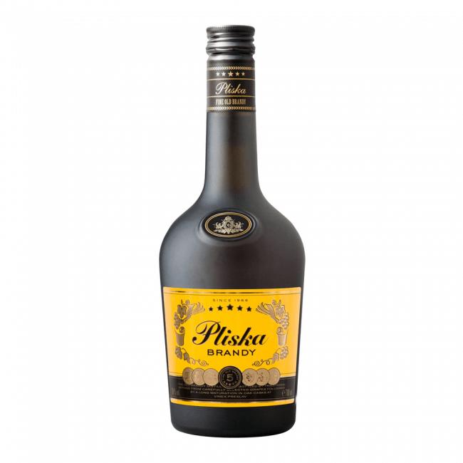 Vinex Preslav Pliska Brandy 5 YO 700ml