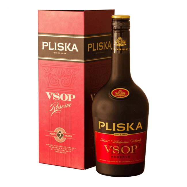 Vinex Preslav Pliska VSOP Reserve 7 Jahre in Geschenkbox