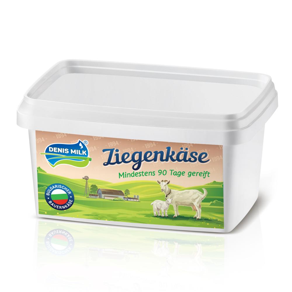 Denis Milk Bulgarischer Ziegenmilch Salzlakenkäse Sirene