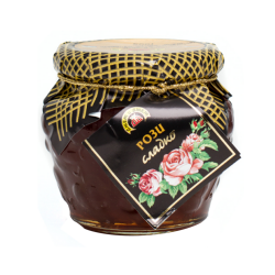 Jam & Jam Konfituere mit Rosenblätter