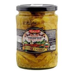 Misota Gebratene Zucchini mit Knoblauch