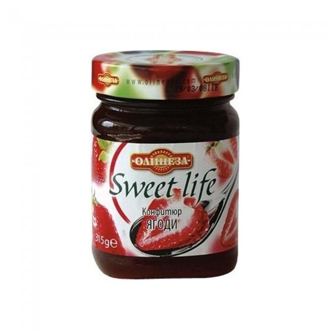 Olineza Sweet Life Erdbeerkonfitüre